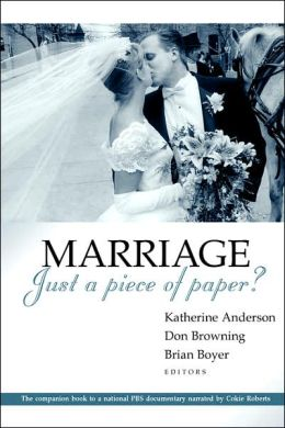 Marriage - Just A Piece Of Paper?