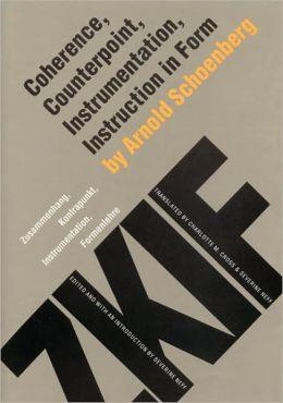 Coherence, Counterpoint, Instrumentation, Instruction in Form (Zusammenhang, Kontrapunkt, Instrumentation, Formenlehre)