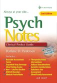 Book Cover Image. Title: Psych Notes:  Clinical Pocket Guide, Author: Darlene Pedersen
