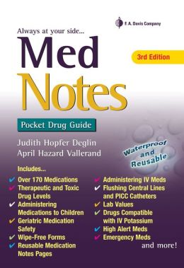 MedNotes: Pocket Drug Guide
