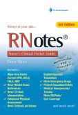 Book Cover Image. Title: RN Notes:  Nurse's Clinical Pocket Guide, Author: Ehren Myers