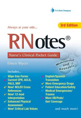 RN Notes: Nurse's Clinical Pocket Guide