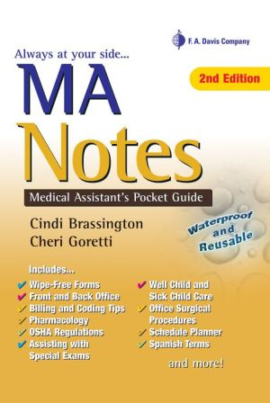 MA Notes: Medical Assistant's Pocket Guide / Edition 2