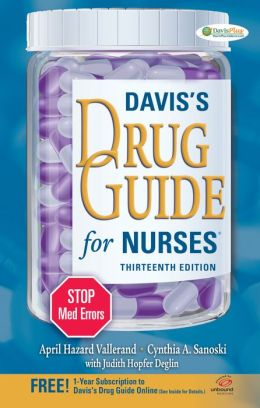 Davis drug guide for nurses 13th edition free download