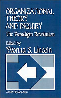 Organizational Theory And Inquiry