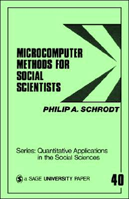 Microcomputer Methods for Social Scientists