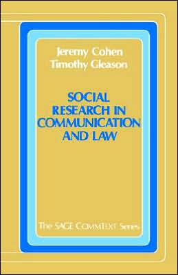 Social Research In Communication And Law