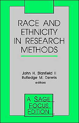 Race And Ethnicity In Research Methods