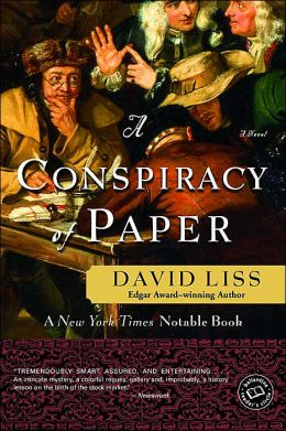 A Conspiracy of Paper (Benjamin Weaver Series #1)
