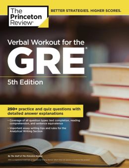 Verbal Workout for the GRE, 5th Edition