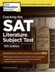 Book Cover Image. Title: Cracking the SAT Literature Subject Test, 15th Edition, Author: Princeton Review
