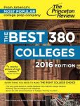 Book Cover Image. Title: The Best 380 Colleges, 2016 Edition, Author: Princeton Review