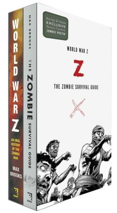 Max Brooks Boxed Set: World War Z / The Zombie Survival Guide (B&N Exclusive Edition)