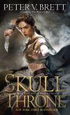 Book Cover Image. Title: The Skull Throne, Author: Peter V. Brett