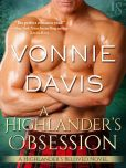 Book Cover Image. Title: A Highlander's Obsession, Author: Vonnie Davis