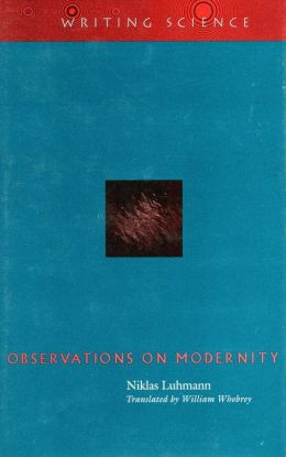 Observations on Modernity