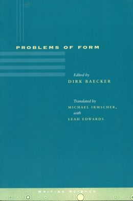 Problems of Form