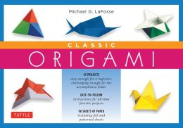 Classic Origami Kit: [Boxed Kit with 98 Folding Papers & Full-Color Book]