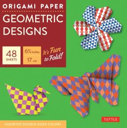 Origami Paper Geometric Prints 6 3/4