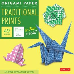 Origami Paper Traditional Prints 8 1/4