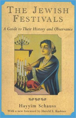 Jewish Festivals: A Guide to Their History and Observance