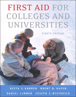First Aid for Colleges and Universities