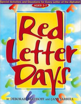 Red Letter Days : Ages 3-7