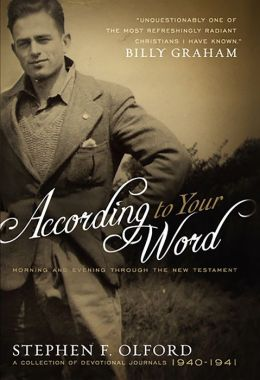 According to Your Word