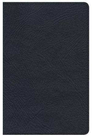 Minister's Pocket Bible: KJV Edition, Black Genuine Leather