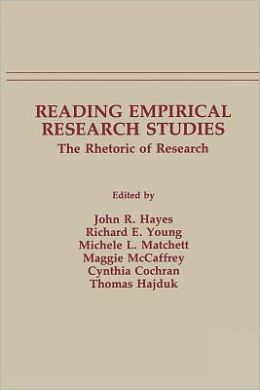 Reading Empirical Research Studies: The Rhetoric of Research