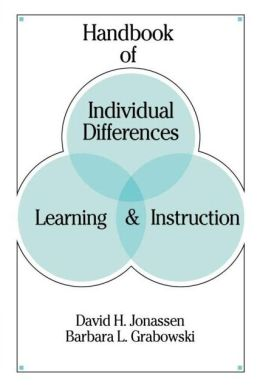 Handbook of Individual Differences, Learning, and Instruction