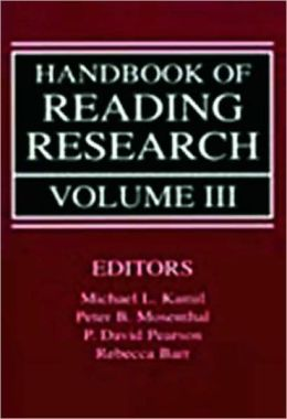 Handbook of Reading Research V3