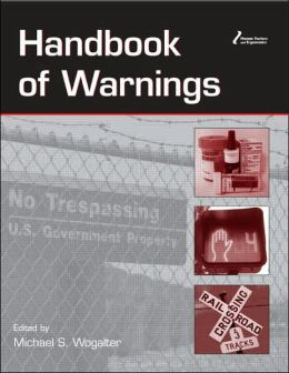 Handbook of Warnings