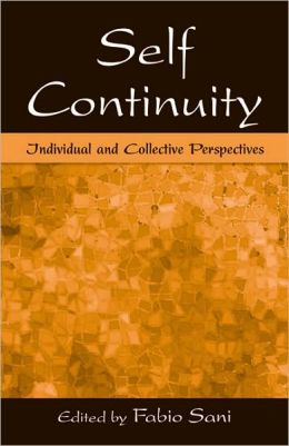 Self Continuity: Individual and Collective Perspectives
