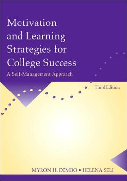 Motivation and Learning Strategies for College Success: A Self-Management Approach