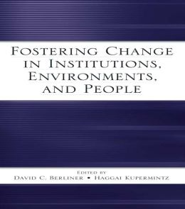 Fostering Change in Institutions, Environments, and People: A Festschrift in Honor of Gavriel Salomon