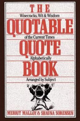 The Quotable Quote Book