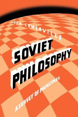 Soviet Philosophy
