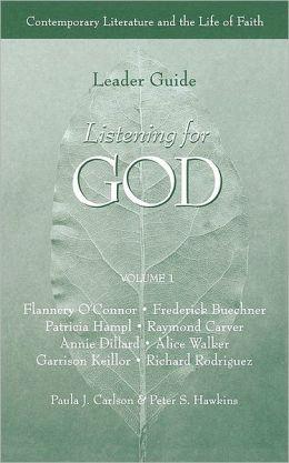 Listening For God Ldr Vol 1