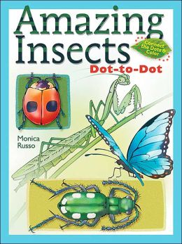 Amazing Insects Dot-to-Dot