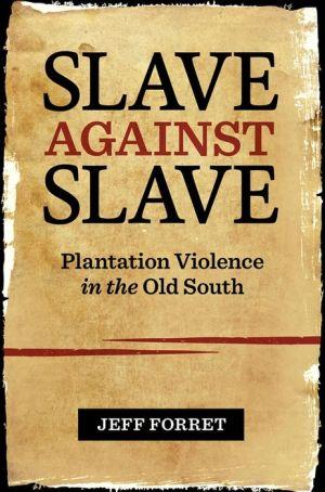 Slave Against Slave: Plantation Violence in the Old South