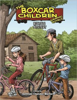 Bicycle Mystery (The Boxcar Children Graphic Novels Series #17)