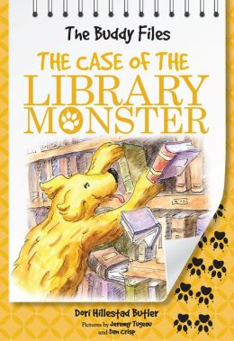 The Case of the Library Monster (Buddy Files Series #5)