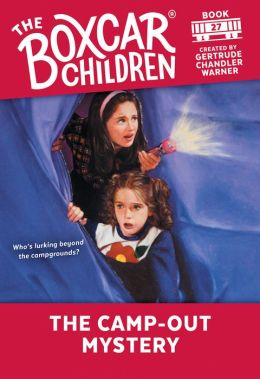 The Camp-Out Mystery (The Boxcar Children Series #27)