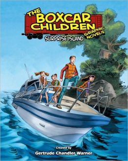 Surprise Island (The Boxcar Children Graphic Novels Series #2)