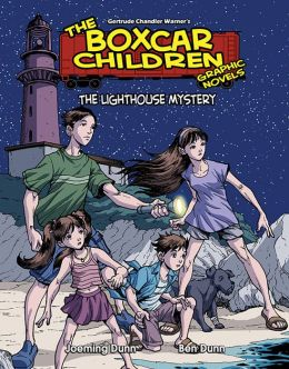 The Lighthouse Mystery (The Boxcar Children Graphic Novels Series #14)