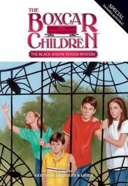 The Black Widow Spider Mystery (The Boxcar Children Special Series #21)