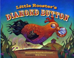 Little Rooster's Diamond Button Book and DVD Set