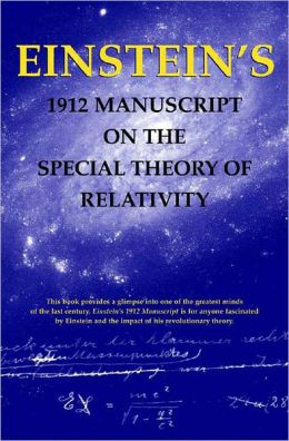 1912 Manuscript on the Special Theory of Relativity