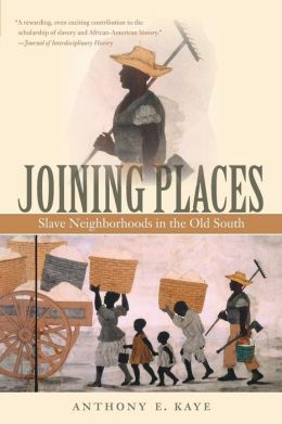 Joining Places: Slave Neighborhoods in the Old South